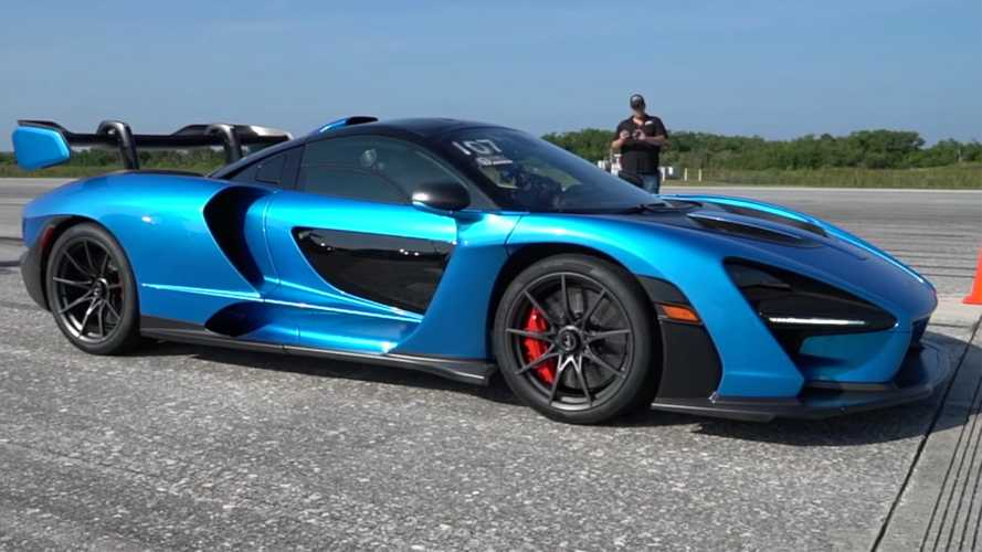 McLaren Senna's First Top Speed Run Produces Surprising Result