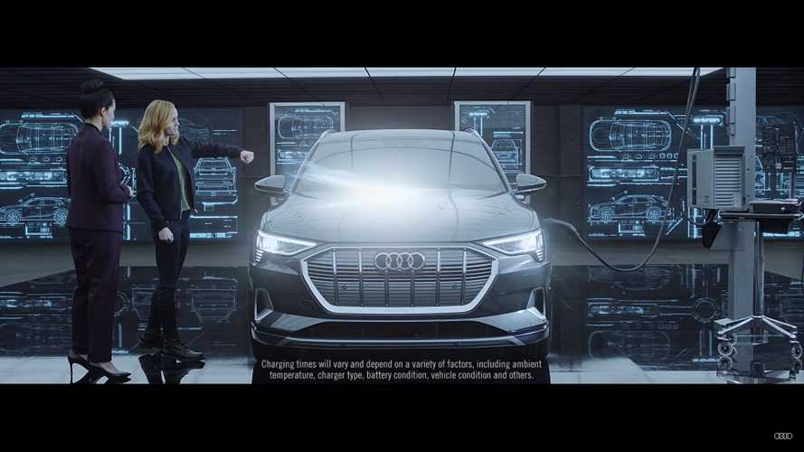 Audi debriefs Captain Marvel on all she missed, including the E-Tron