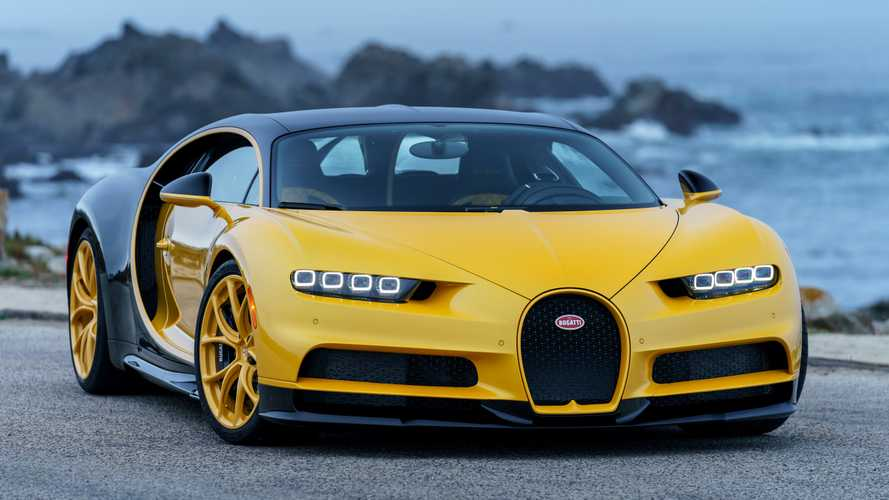 Bugatti EB110, Veyron ve Chiron Ortak Fotoğraf Galerisi