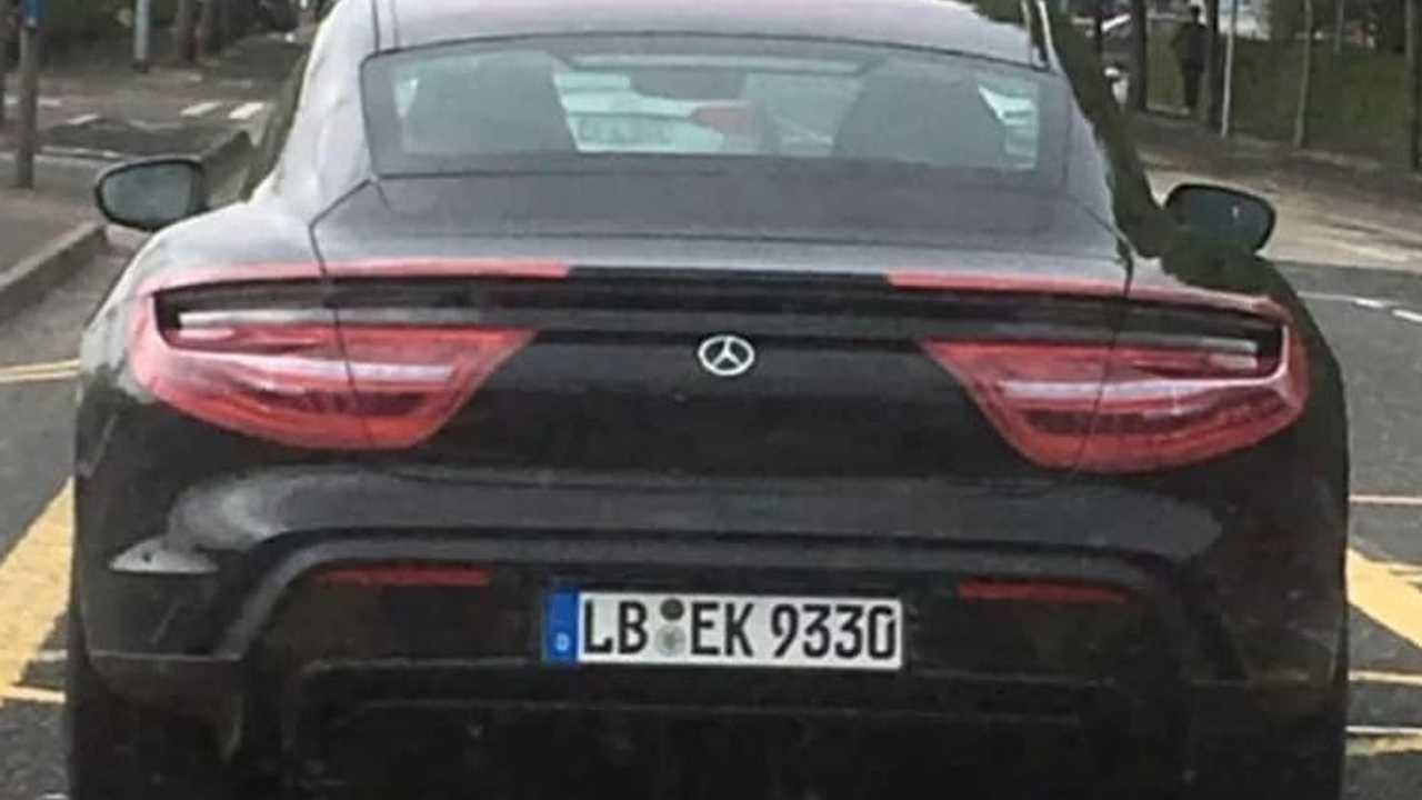 Porsche Taycan new spy photo