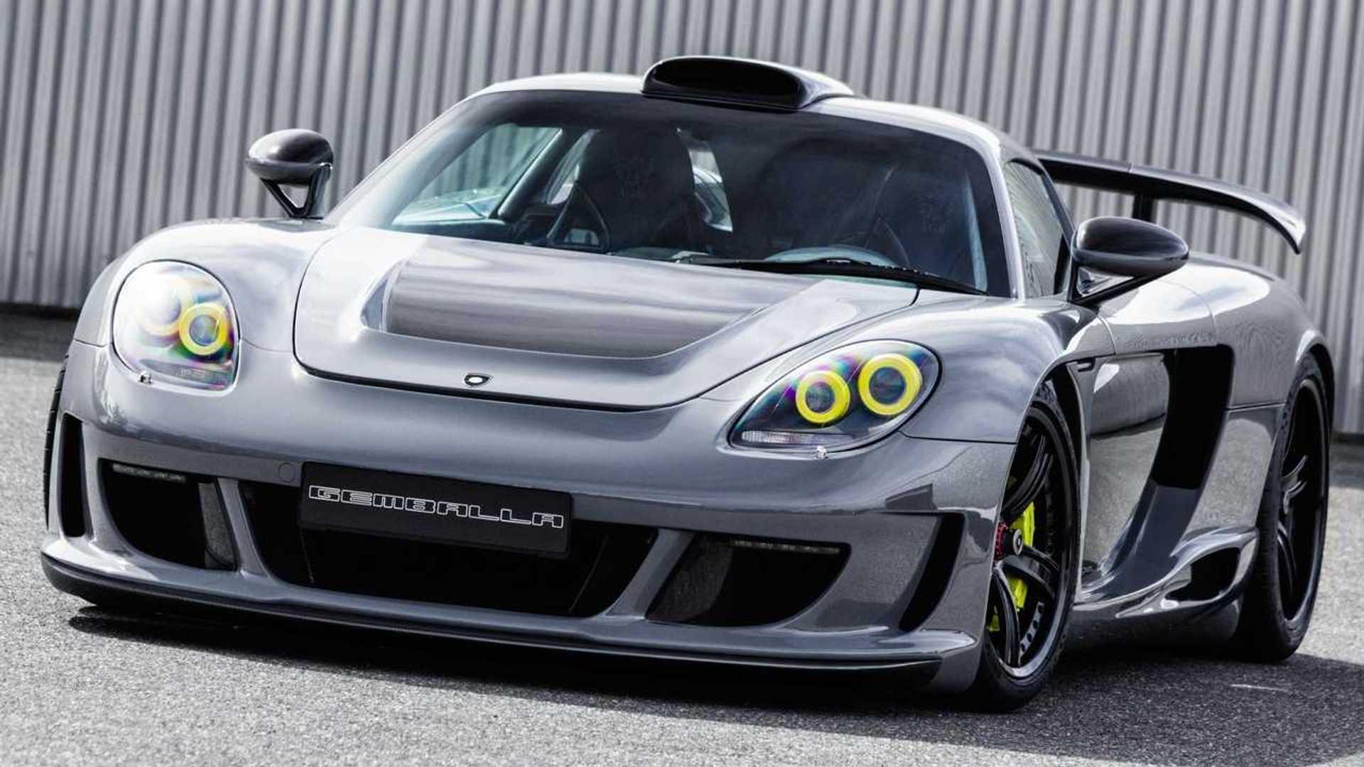 Gemballa Porsche Carrera Gt Took 1 000 Hours To Complete