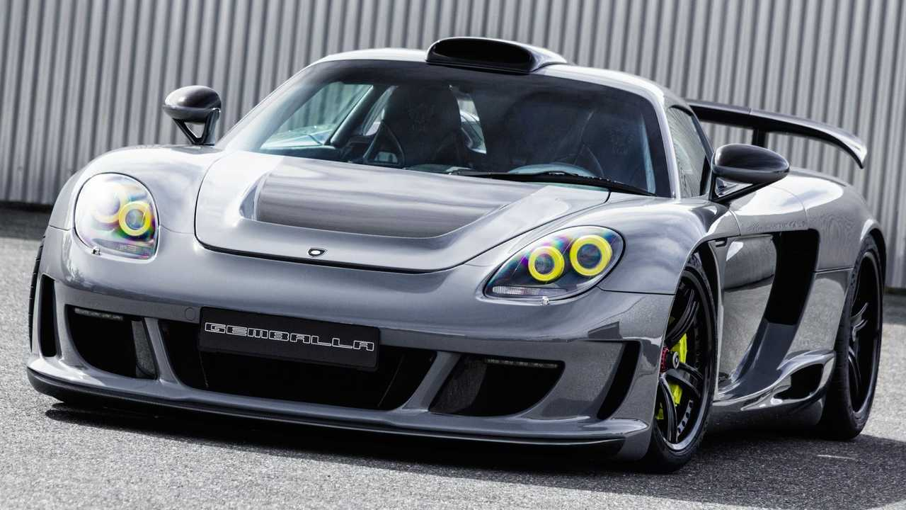 Gemballa Mirage GT based on the Porsche Carrera GT