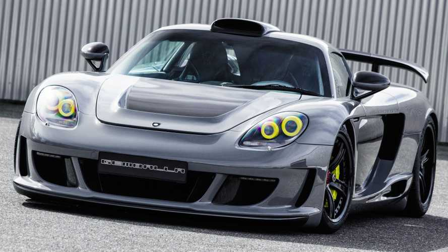 Gemballa Porsche Carrera GT took 1,000+ hours to complete