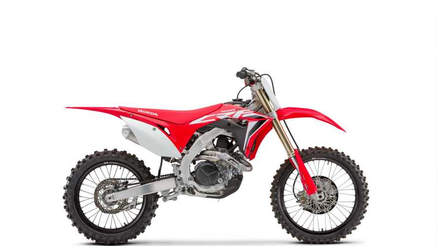 Honda: arrivano le CRF 2020