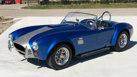 With a 1964 ford cobra by unique motorsports impressing everyone is second nature