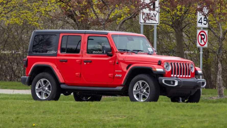 Fotos espía de la Jeep Wrangler Diesel