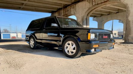 A storm is brewing thanks to a 1993 gmc typhoon