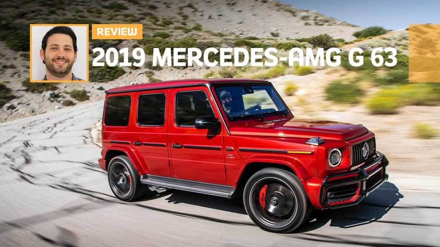 2019 Mercedes-AMG G63 Review: Hits The Spot