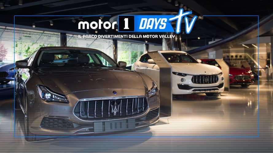 Tutta la Maserati che c'è al Motor Valley Fest e ai Motor1Days