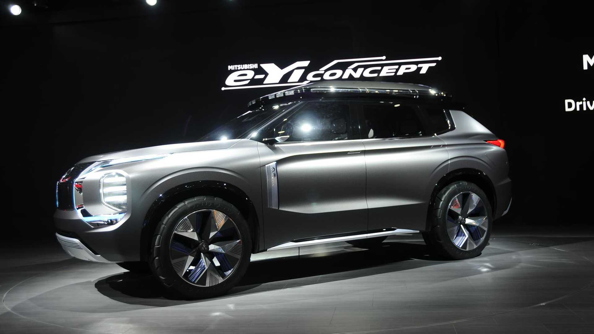 Best Ford Diesel Engine >> Mitsubishi e-Yi Concept Debuts In Shanghai