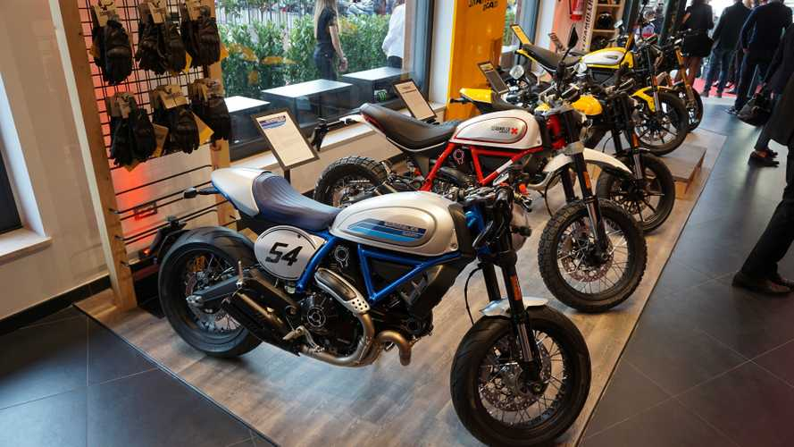 Ducati Roma nuovo showroom