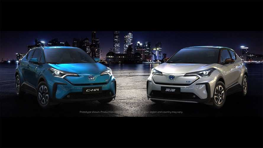 Battery-Powered Toyota C-HR Highlights Electric Debuts In China