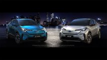 Toyota C-HR EV und andere Exponate auf der Shanghai Auto Show 2019