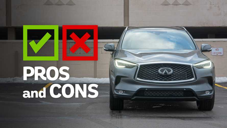 2019 Infiniti QX50 Essential AWD: Pros and Cons