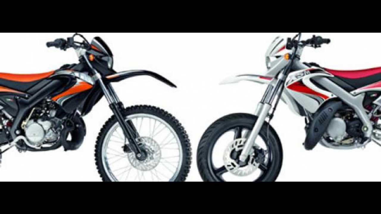 Malaguti XTM Enduro e XSM Supermotard 2010