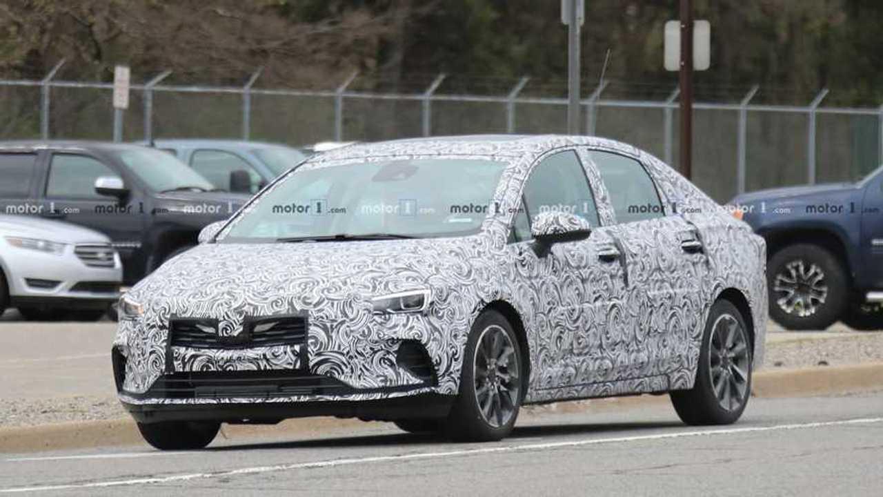 2020 Buick Verano Spy Spy Shoot