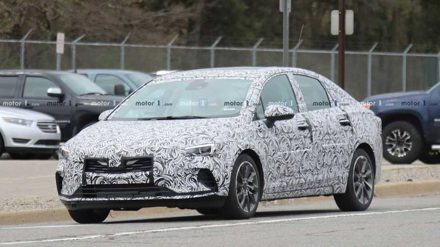 Buick Verano Facelift Spied For The First Time In Michigan