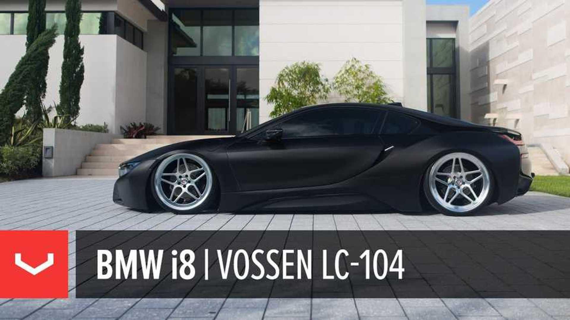 Matte Black Bmw I8 On Forged Vossen Wheels Video