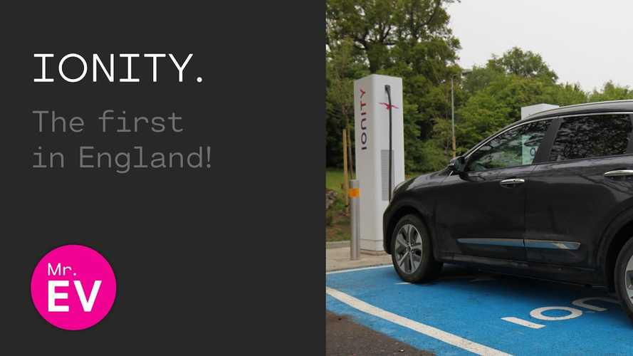 Kia Niro EV Tests First IONITY Charging Station In England: Video