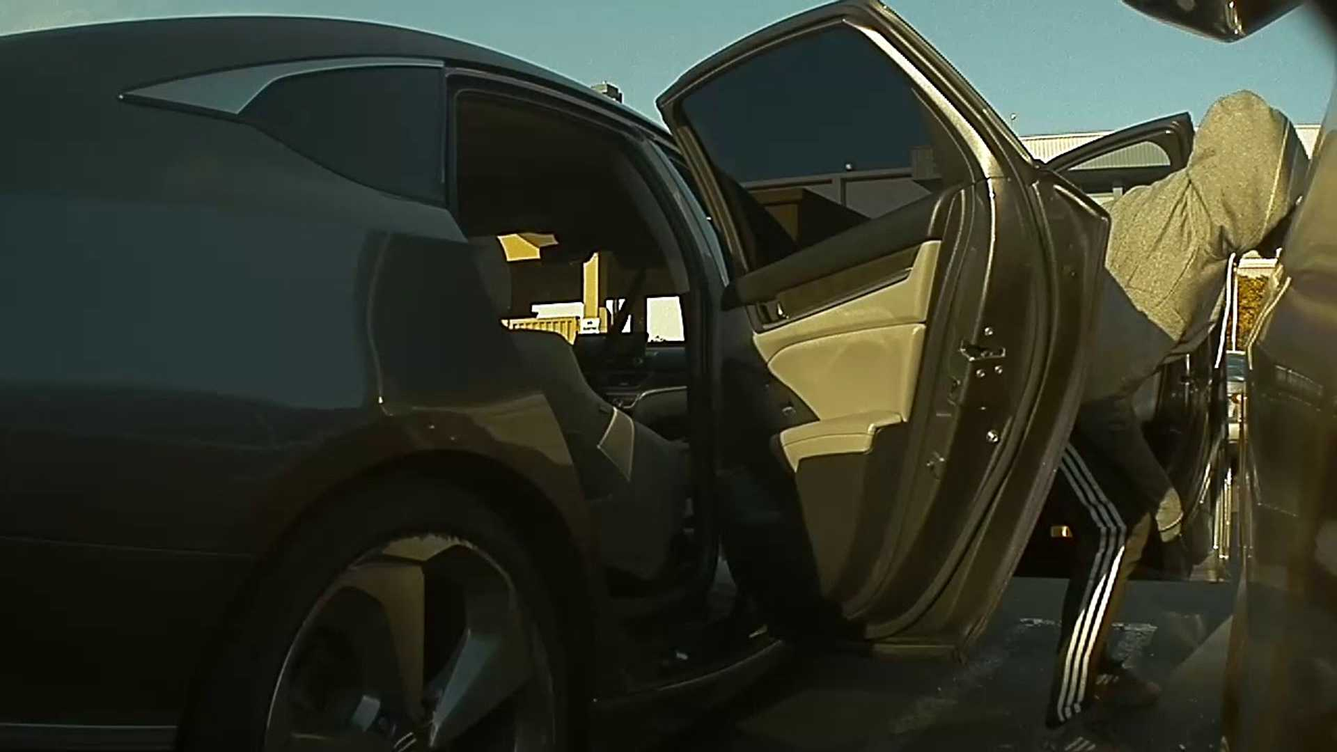 Tesla Cameras Catch Model 3 Break In & Burglary: Video