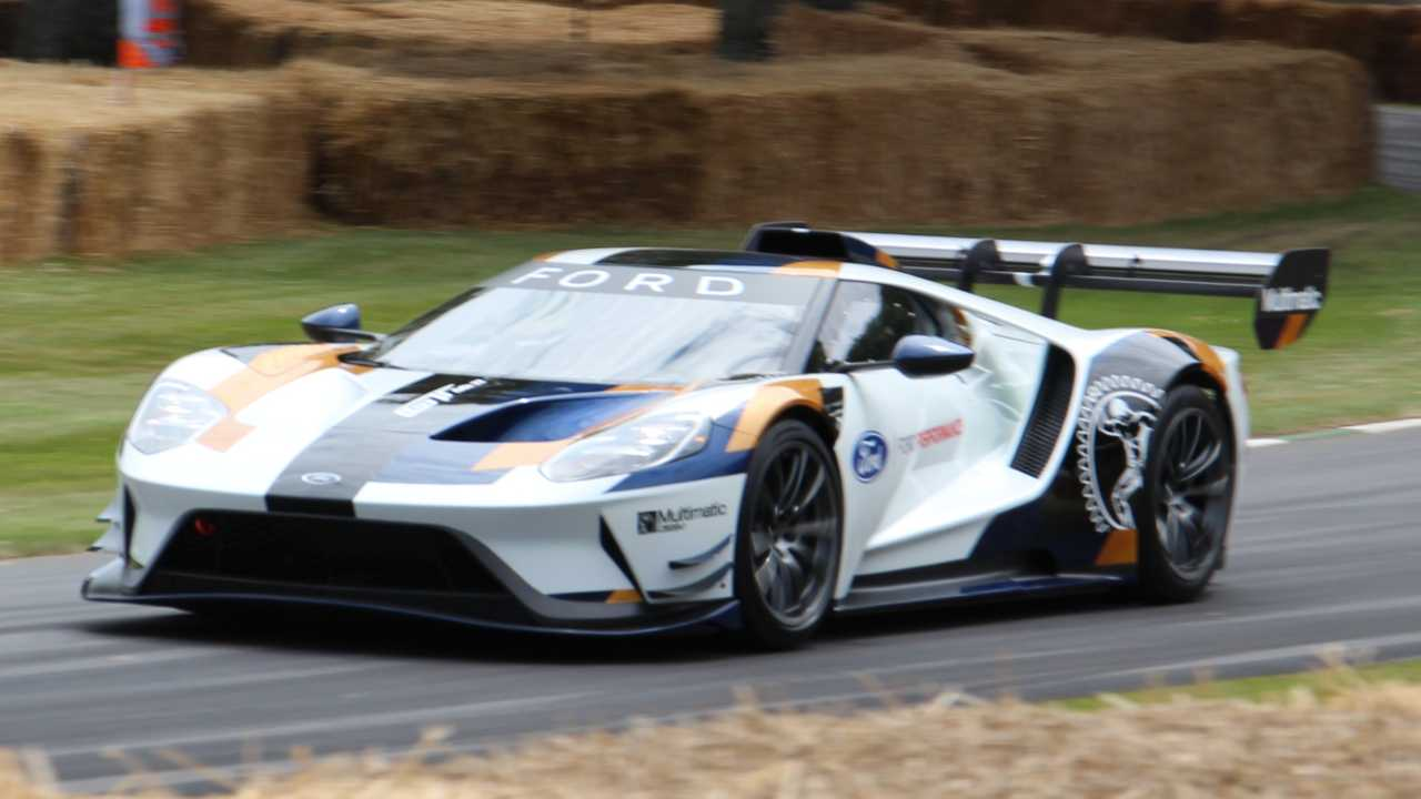 Ford GT Mk II at the 2019 Goodwood Festival of Speed