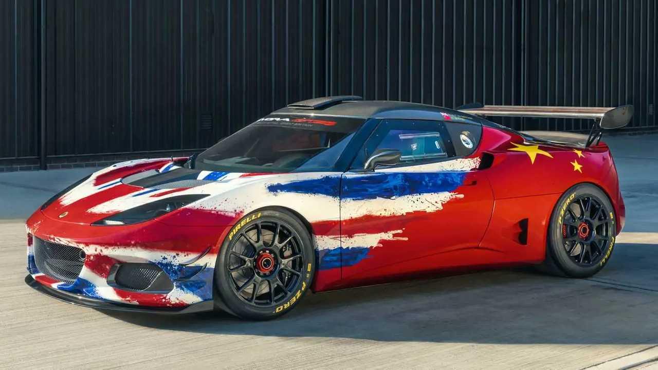 Концепция Lotus Evora GT4 2019 года