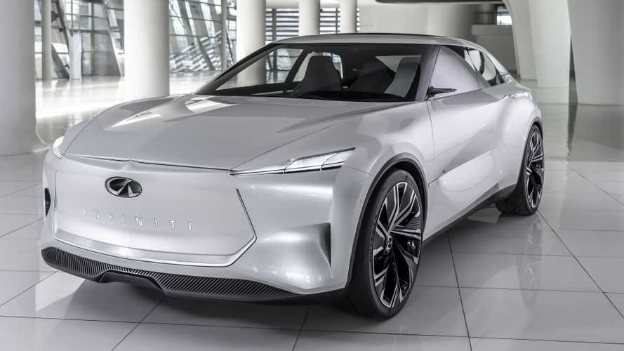 Infiniti Qs Inspiration Concept previews sporty electric saloon