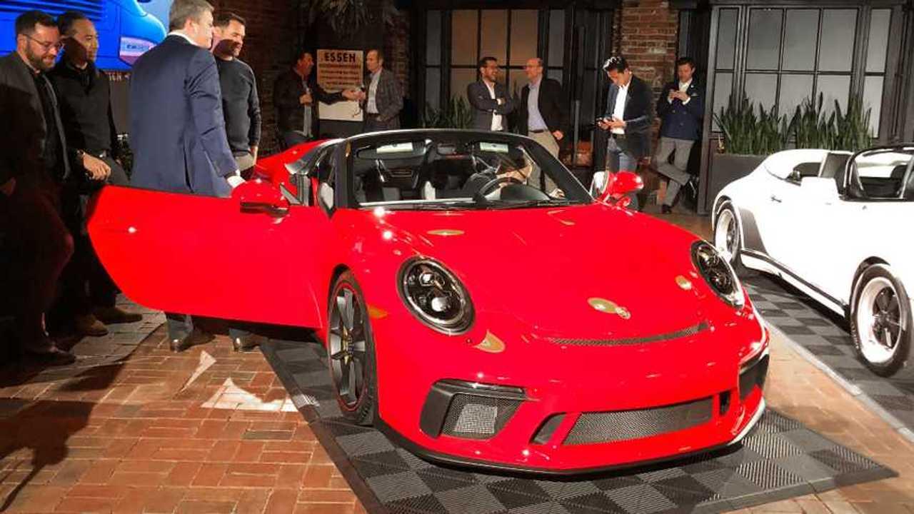 2019 Porsche 911 Speedster live in N.Y.