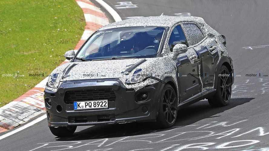 Flagra: Novo Ford Puma (SUV do Fiesta) terá versão esportiva ST
