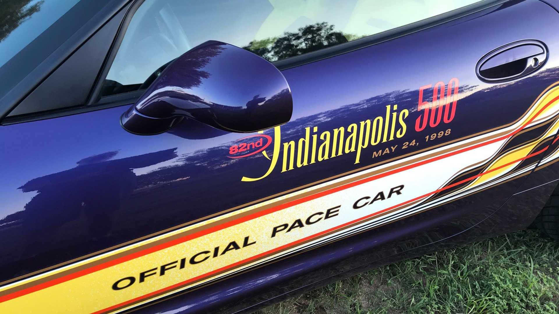 "[""Live Out Your Indy Pace Car Dreams With This 1998 Corvette""]"