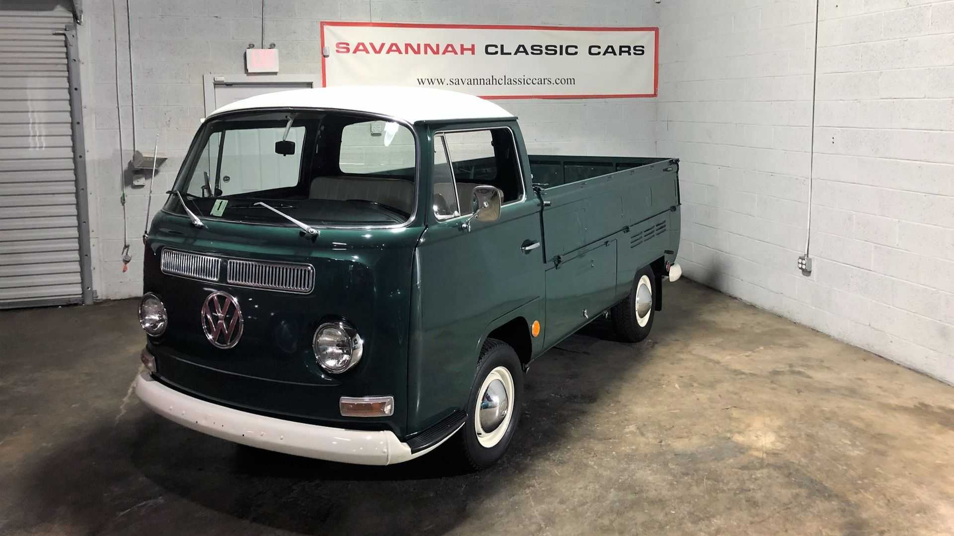"[""Haul Some Sunshine Into Life With A 1969 Volkswagen Type 2 Pickup""]"