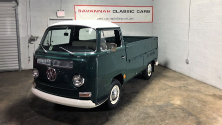 Haul some sunshine into life with a 1969 volkswagen type 2 pickup