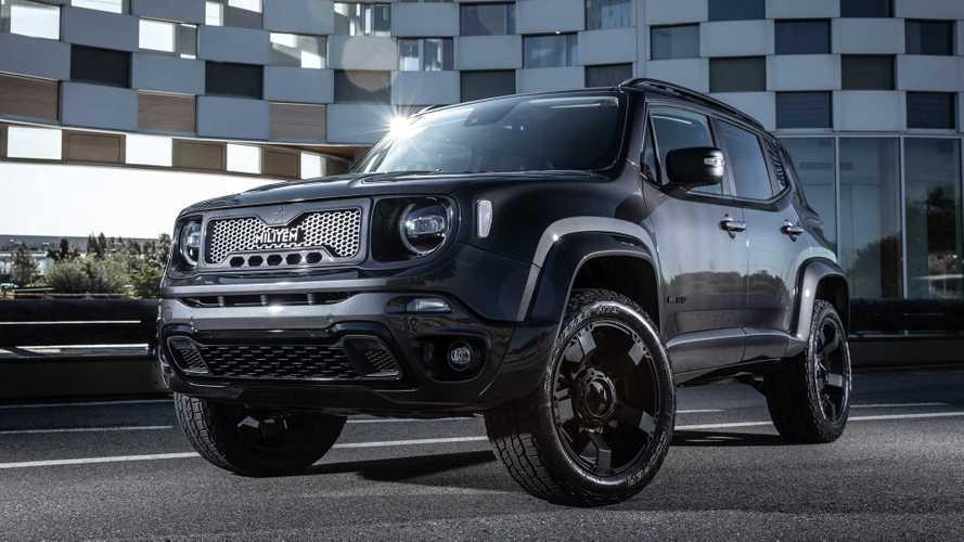 Militem Hero - Quand le Jeep Renegade joue les gros bras