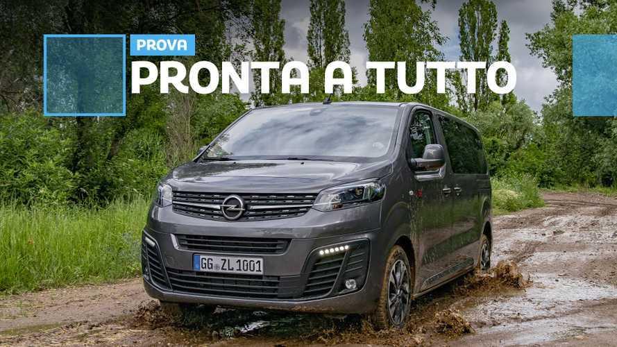 Opel Zafira Life, viaggiare comodi su ogni tipo di terreno
