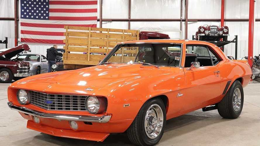 Get Your Daily Dose Of Vitamin C In A 1969 Camaro ZL1