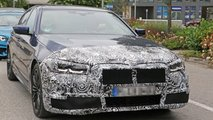 BMW 545e sedan spy photos