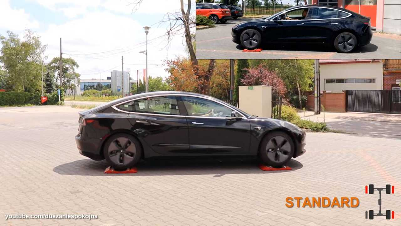 How Does AWD Tesla Model 3 Behave With One Driving Wheel ...