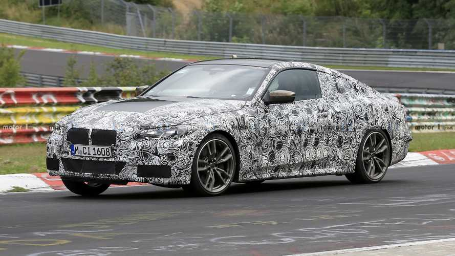 BMW 4 Series Coupe Spied In Motion On Munich Streets [UPDATE]