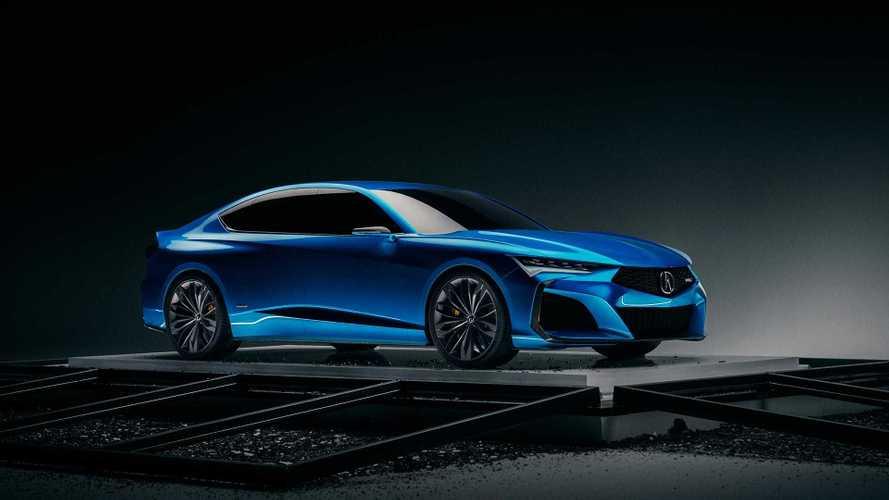 Acura Type S Concept, el sedán deportivo del fururo