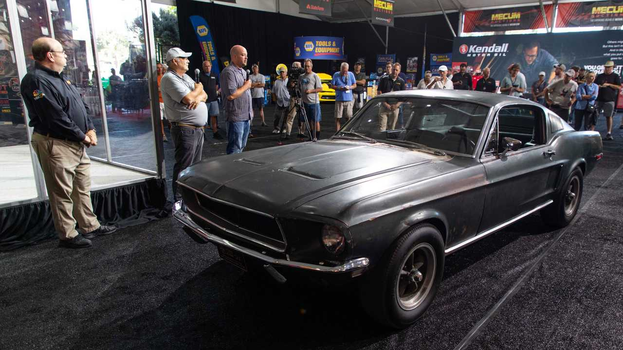 Mecum Reveals Bullitt Mustang Hero Car To Be Auctioned In 2020