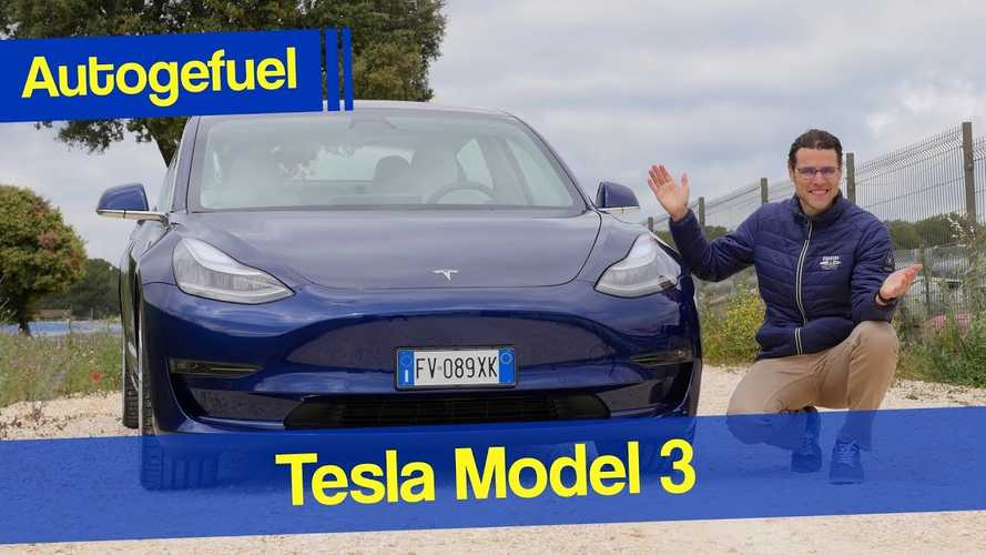 Tesla Model 3 Review: Acceleration, Range, Consumption, Track Mode