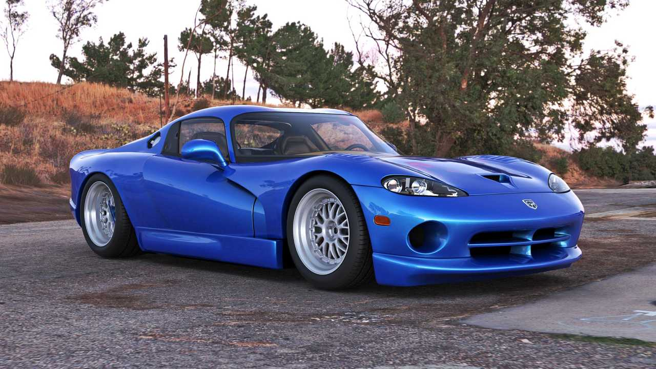 midengined viper that never was rendered