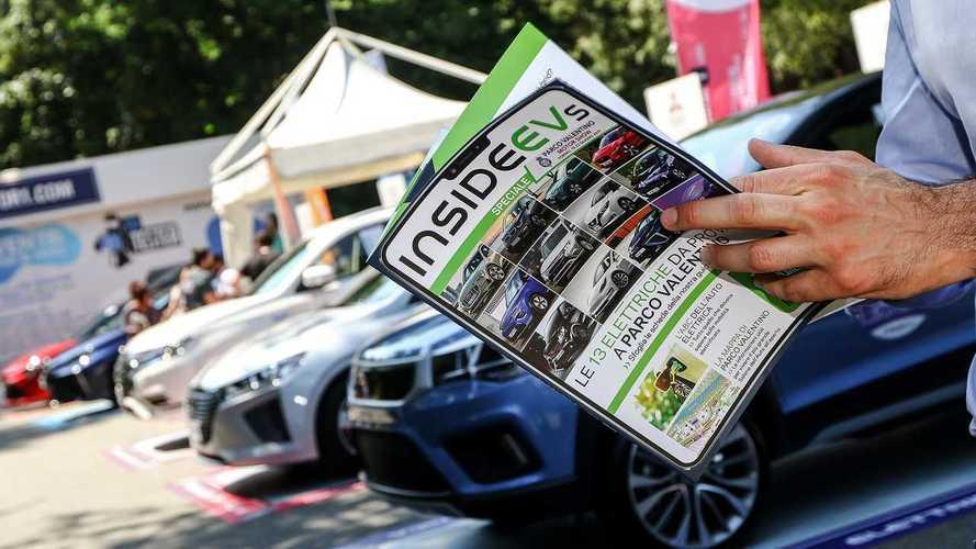 InsideEVs, a Parco Valentino è anche auto in prova e un freepress