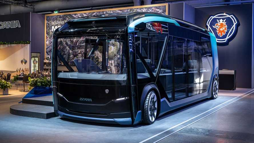 Scania NXT bus concept revealed - electric, autonomous and modular