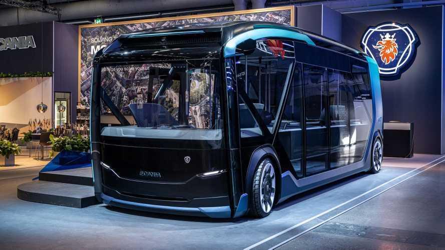 Electric, Autonomous And Modular Scania NXT Unveiled