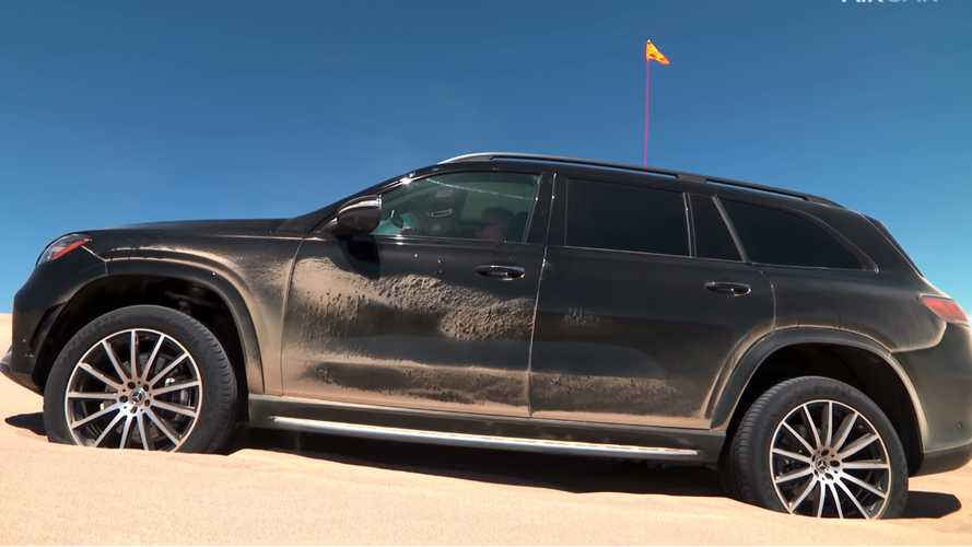Watch The New Mercedes-Benz GLS Bounce Itself Out Of A Sand Trap