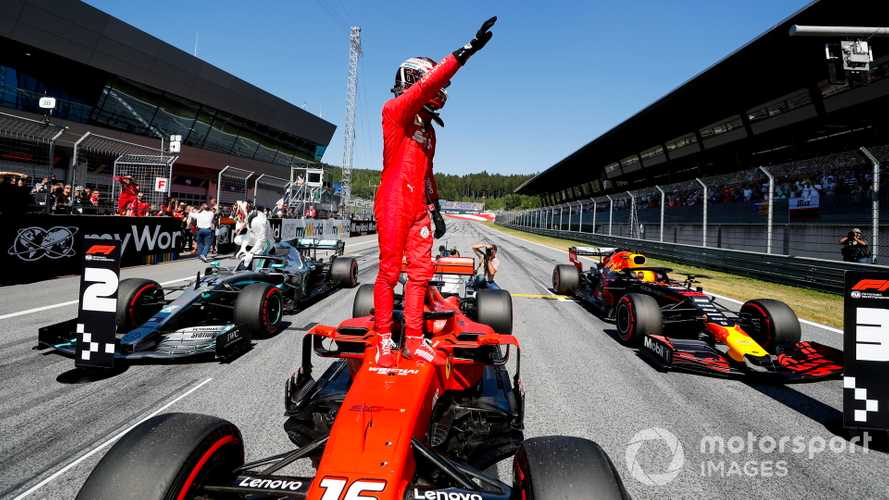 Austrian GP: Leclerc beats Hamilton to pole, Vettel ninth