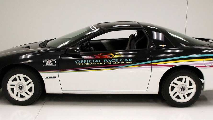Wave The Yellow Flag For This 1993 Chevrolet Camaro Pace Car Replica