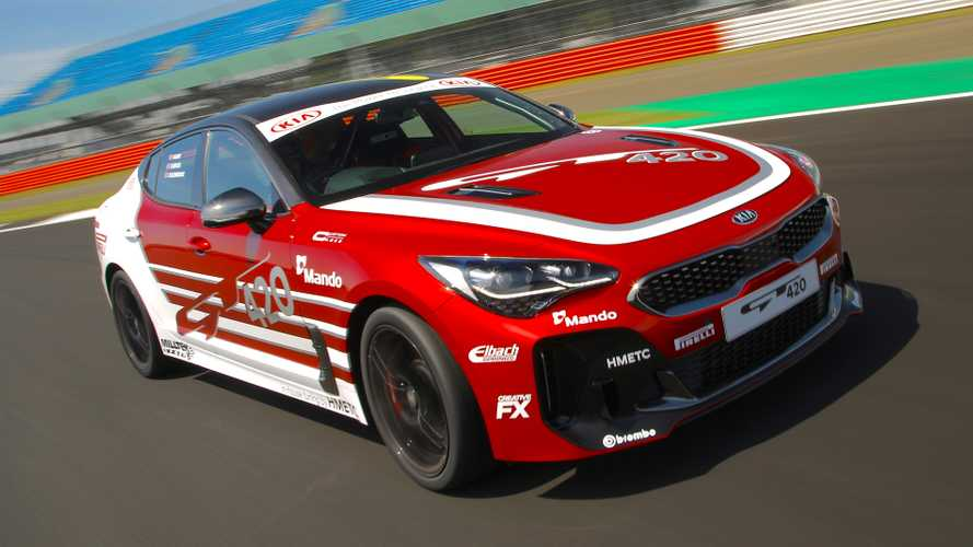 Kia turns TV star headed to the scrapheap into track monster