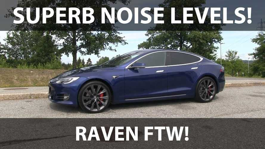 Noise Levels: Tesla Model S Raven With 21-inch Wheels (Video)